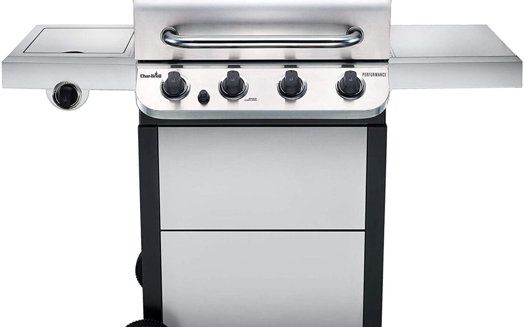 Char Broil Performance 4 Burner Gas Grill Barbecue