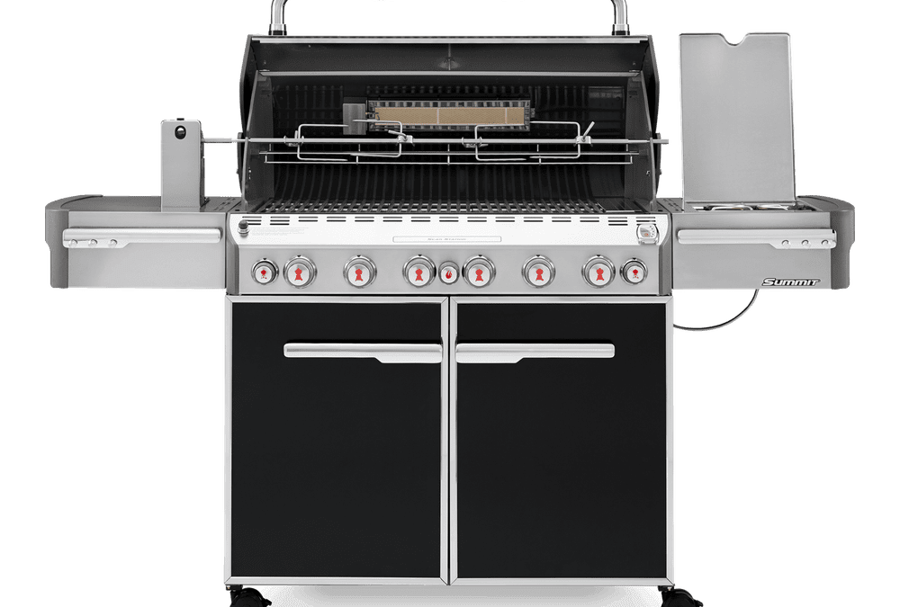 Weber Summit E-670 Gas Grill Black (Updated)