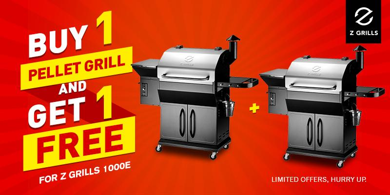ZGrills 1000E – Buy 1 Get 1 Free