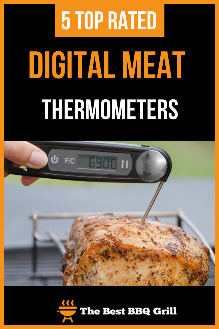 5 Top Rated Digital Meat Thermometers Pin1