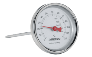 image of a bimetal food thermometer